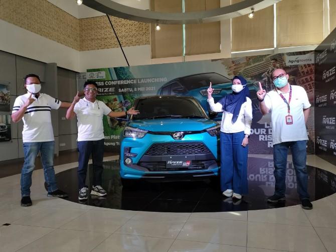 All New Toyota Raize Resmi Mengaspal di Riau
