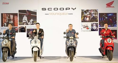 Honda Scoopy Generasi Terbaru Meluncur di Riau