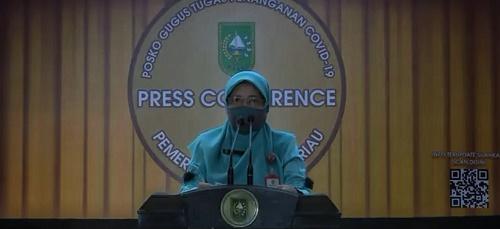 Positif Covid-19 di Riau Bertambah 227 Kasus</a>