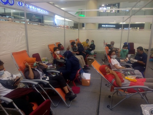 Baksos di Tengah Pandemi, Jumat Berkah dan IKPTB Kumpulkan 1437 Kantong Darah