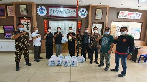 PSMTI Riau Kembali Salurkan Paket Lebaran