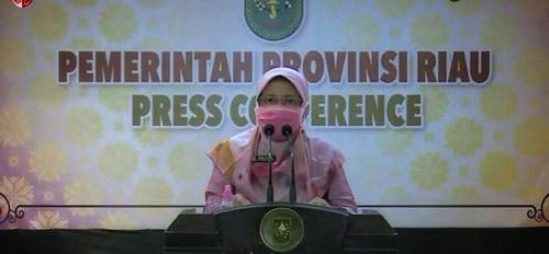 Positif Covid-19 di Riau Bertambah 513 Kasus</a>