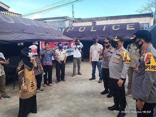 Pendaftaran Lima Bapaslon di KPU Inhu Berjalan Lancar