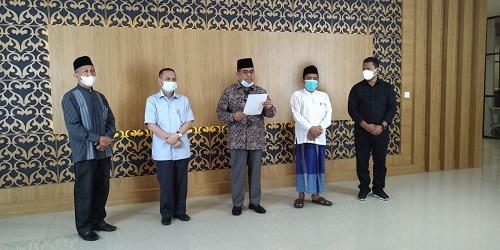 Dukung SE Walikota Pekanbaru, Tokoh Agama Riau Gelar Pertemuan dengan Kapolda
