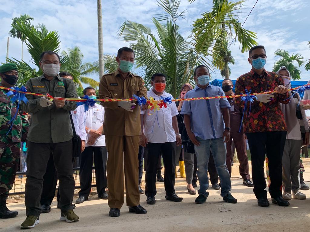 PT CPI – Unilak Berdayakan Bank Sampah di Riau