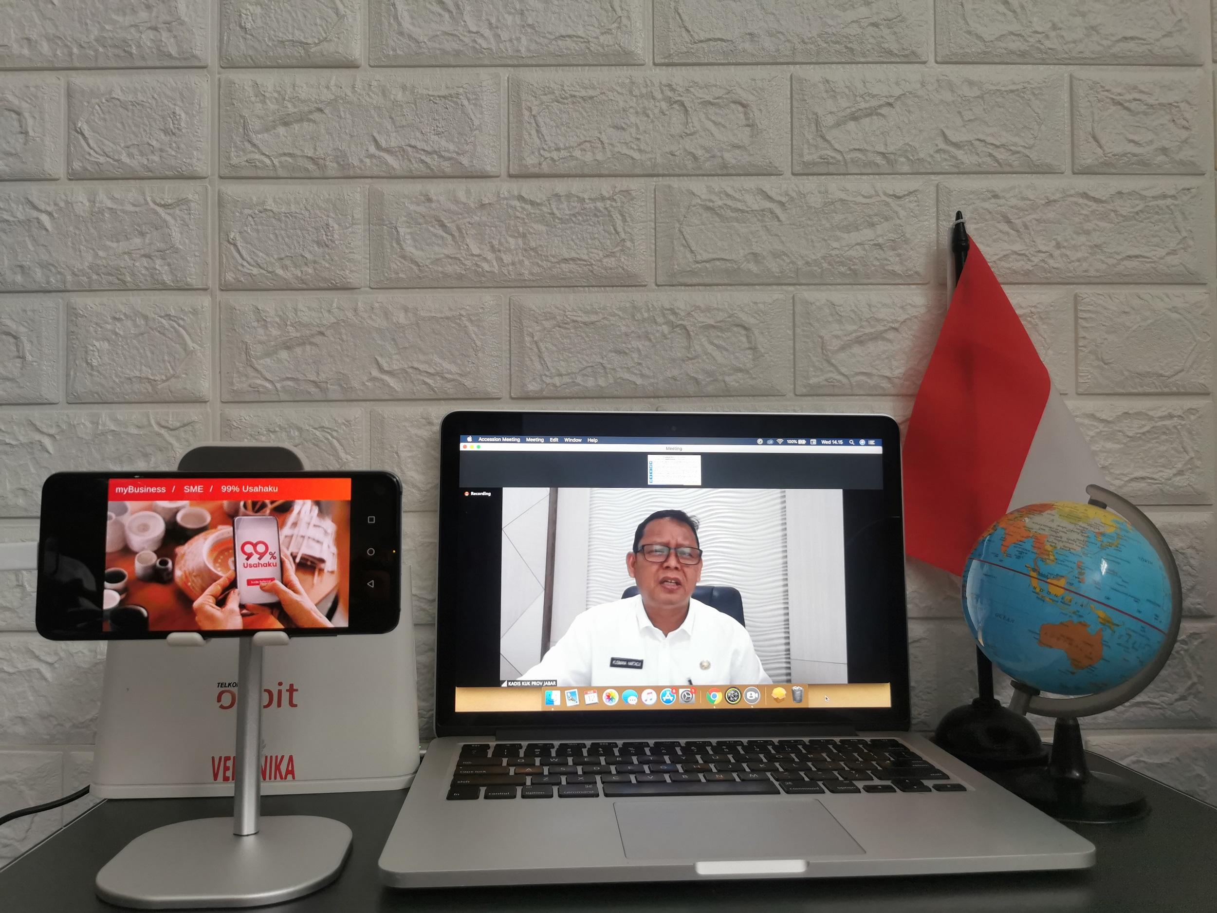 Telkomsel Gelar Webinar UMKM Movement di 12 Kota